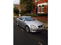 2007 LEXUS IS 250 2.5 PETROL MANUAL SALOON SILVER GOOD DRIVE MOT CHEAP FAMILY CAR NOT BMW 3 5 SERIES