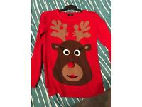 Size 6 xmas jumper for sale