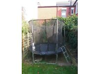 Used 2m Trampoline with netting