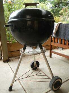 Made in USA Weber BBQ Kettle 47cm Christies Beach Morphett Vale Area Preview