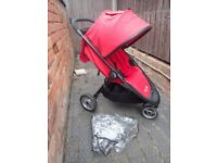 Baby Jogger City Lite Stroller/Pushchair Red