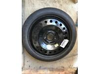 """Spare wheel 17"""" Insignia"""