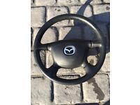 Mazda Mx5 Steering Wheel & Air bag
