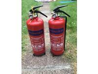Powder Fire Extinguisher - X2 2KG