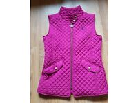 Girls Joules Gilet age 9- 10 years