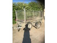 Ifor Williams gd84g 8x4 trailer