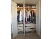 Large White wardrobe