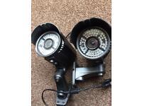Long range CCTV Vari focal cameras