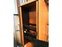 Tall Tambour Office Filing Cabinets/Pull-out Chassis for Drawer Filing/Tambour Unit