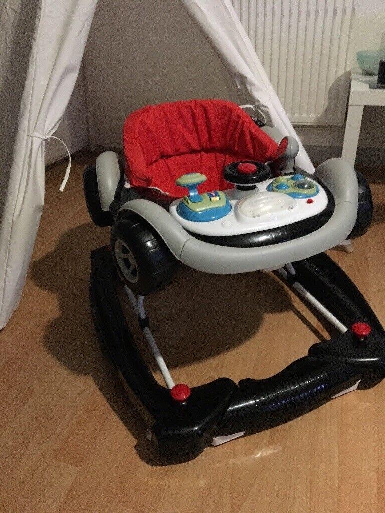Car sit in walker
