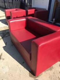 Two seater Sofa with chairs