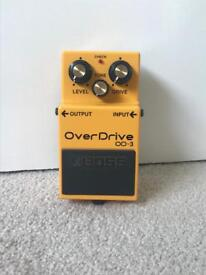 Boss OD-3 Guitar Overdrive Pedal