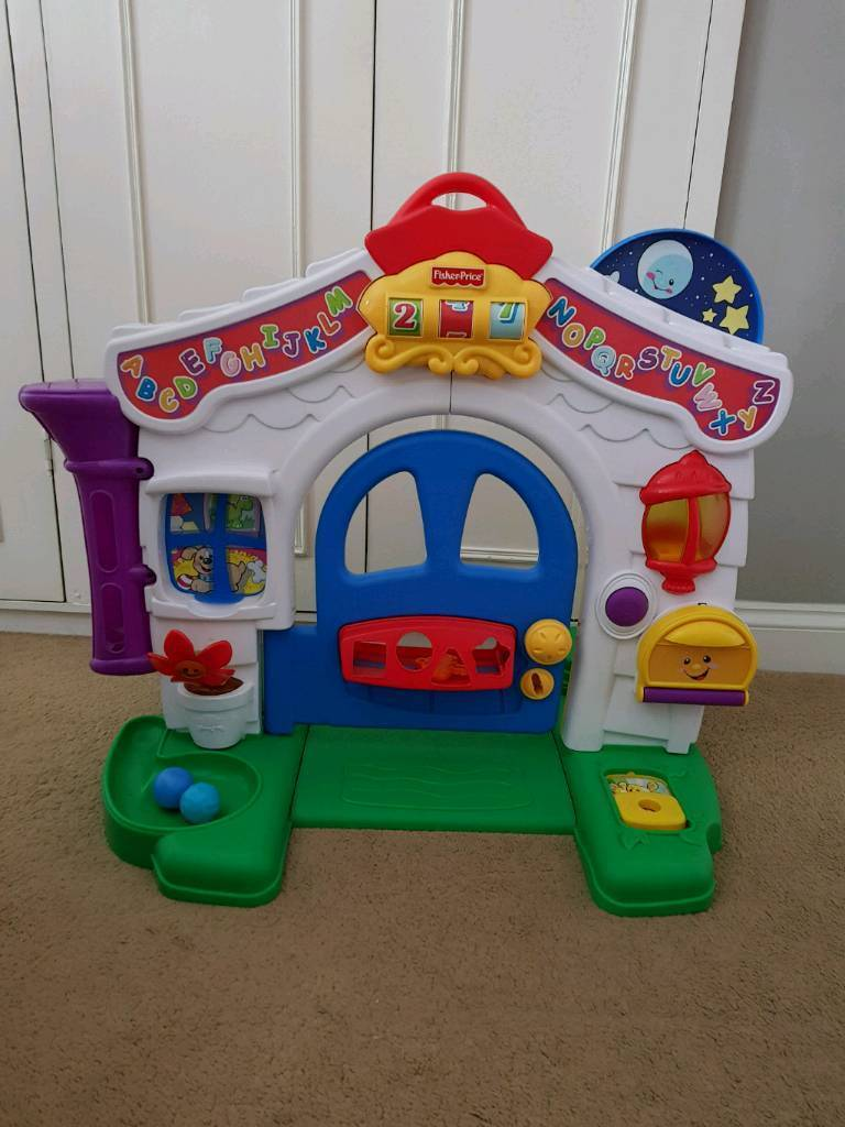 2d4bb4ef7 Fisher Price Laugh and Learn Door