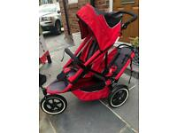 Phil & Ted's Sport Double Kit Pushchair
