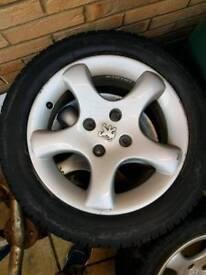 Peugeot alloys 4x108 £80