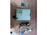 Untested Mitsubishi Lcd Projector With Remote Control and all other Cables