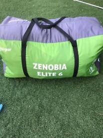 6 Birth Tent (Zenobia Elite 6 with porch awning)