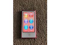 Pink ipod nano 16GB