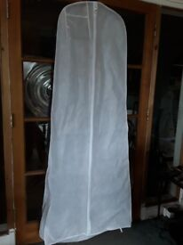 Breathable White Wedding Dress Covers