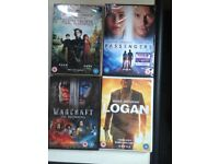 SET OF 8 BRAND NEW SEALED MOVIES
