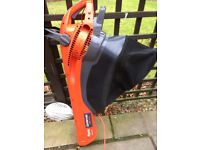Flymo garden van/blower with collection bag