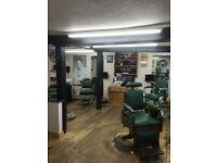 Full time barber required on 50/50 basis self employed, £500/£650 wk