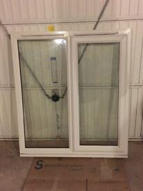 Double glazed window 119cm wide x 134cm high