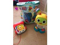 Small bundle baby/toddler toys