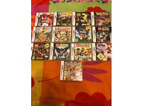 14 Nintendo ds games boxed