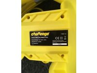 Challenge Yellow Leaf Blower Vac - like new!