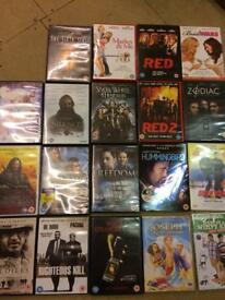 Selection of Dvd films