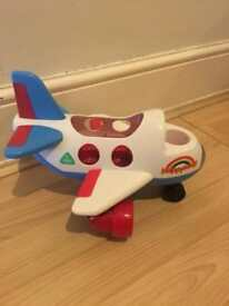 Happy Land Aeroplane with Lights and Sounds -with pilot figure
