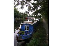 40 foot narrowboat in London