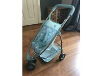 Baby Annabell brother pushchair