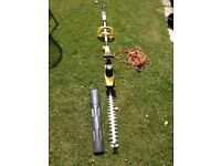 Hedge Trimmer - with telescopic arm