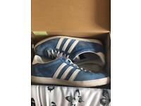 Boxed almost new Adidas Gazelle trainers