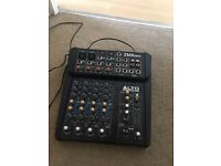 Alto 4 Channel Mixer ZMX862