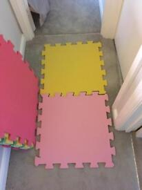 Soft play tiles from Mothercare