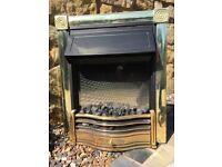 Dimplex Horton Brass Optiflame Electric Inset Fire