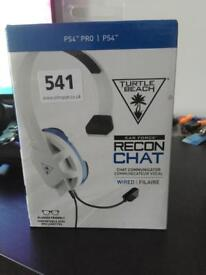Turtle beach recon chat headset for PlayStation 4