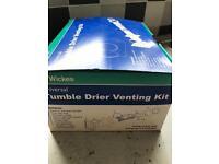 Venting kit for tumble dryer