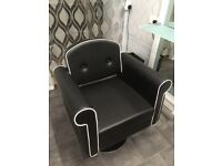 4 New salon chairs for sale