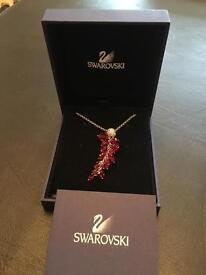 Swarovski red grape necklace Christmas gift idea