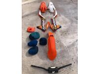 2016 KTM 350 SXF Plastics