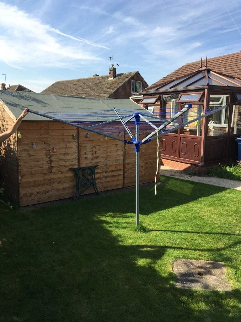 Washing linein Retford, NottinghamshireGumtree - Rotary washing line in excellent condition £30 contact Paul on (07875) 273204 if you see this ad I still have the rotary washing line Retford