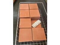 98 Terracotta Floor Tiles