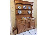 Welsh dresser in pine