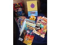 Various comics and comic books