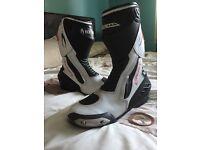 Richa Drift Motorbike Boots Size 8