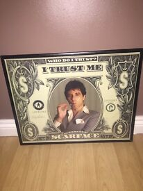 scarface framed